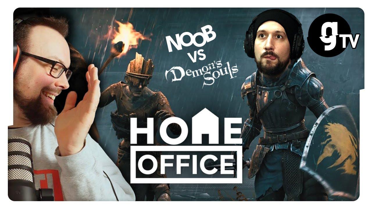 Noob vs. Demon's Souls – Chris zockt sein erstes SoulsBorne | HOME Office #21 | gTV