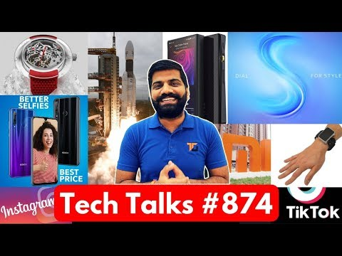 tech-talks-#874---chandrayaan-2,-redmi-64mp,-honor-20i-discount,-rog-phone-2,-tiktok-issue,-vivo-s1