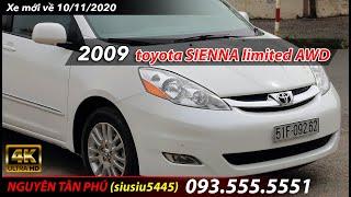 Toyota SIENNA LIMITED AWD nhập Mỹ nguyên chiếc, mới long lanh