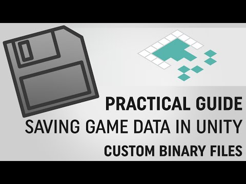 Saving Data in Unity: Custom Binary Files