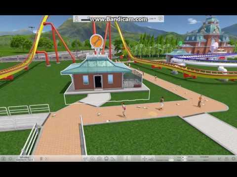 Roller Coaster Tycoon World - Construiesc pe Crash Course |