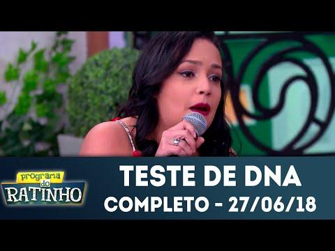 Teste de DNA - Completo | Programa do Ratinho (27/06/2018)