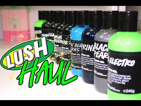 Magic LUSH UK Kitchen Haul ♥ Upcoming Cocktails and Tons of Shower Gels