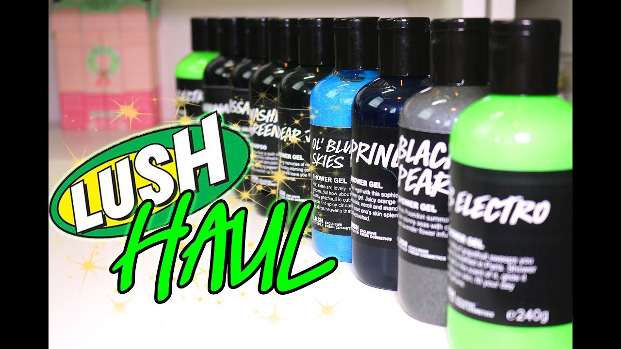 Magic LUSH UK Kitchen Haul ♥ Upcoming Cocktails and Tons ...