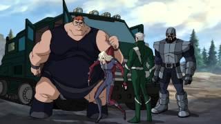 Росомаха и Люди Икс  Начало 8 серия 1 сезон 2008) HD, Мультфильмы для детей!