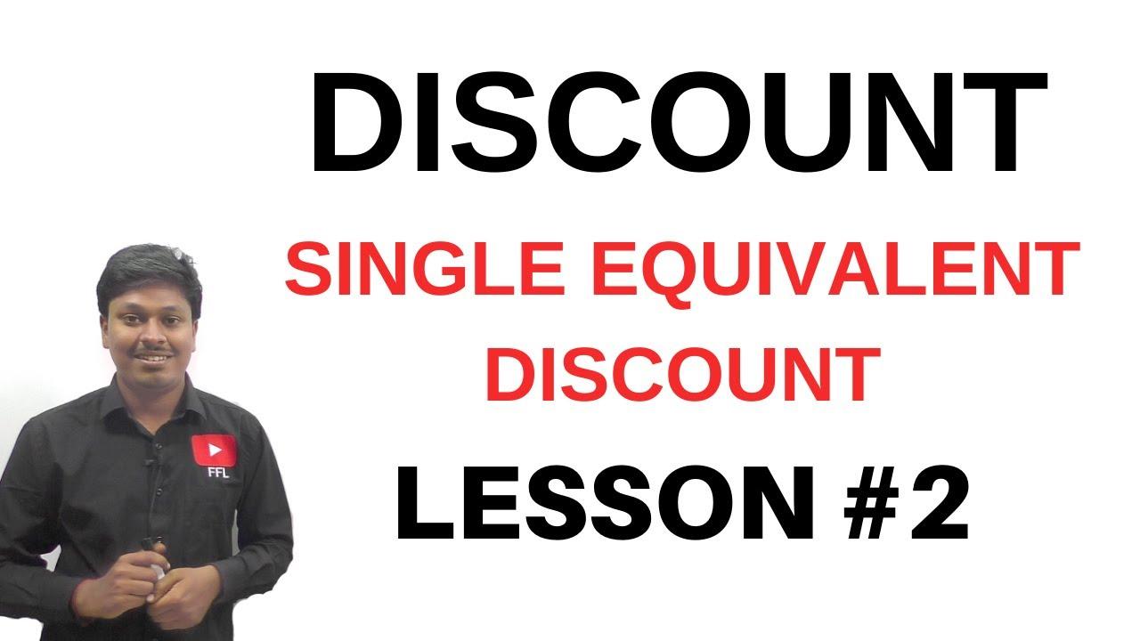 Download Discount || Single Equivalent Discount || Lesson-2