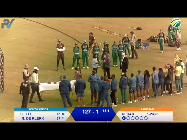 Women's Cricket - South Africa vs Pakistan 5th T20I - Live from Willowmoore Park