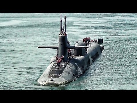 U.S. Nuclear Powered SSGN Submarine Arrives In Malaysia