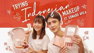 TRYING CRUELTY FREE MAKEUP   Get Ready With Us in Indonesia 🇮🇩