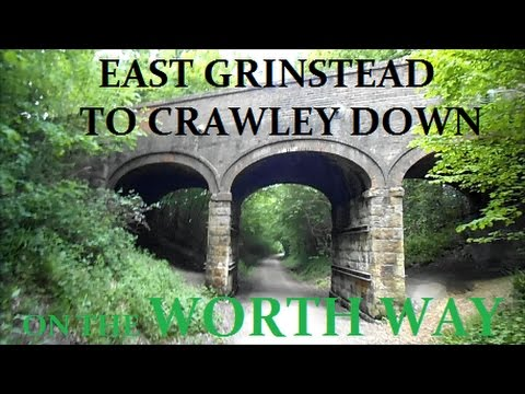 Worth Way Trail ~ Disused Railway Line