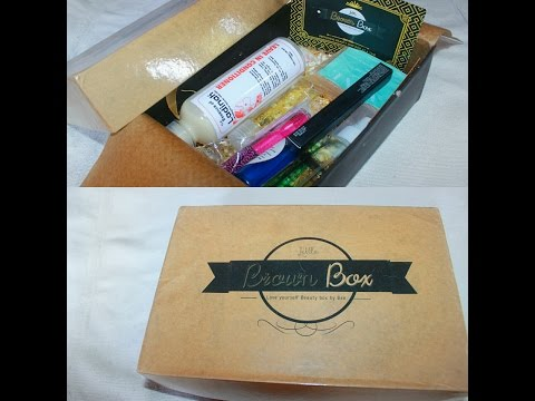 UNBOXING AND REVIEW FOR LITTLE BROWN BOX||NGERIAN BEAUTY BOX COMPANY!!
