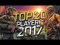 CS:GO - Top 20 Players of 2017 (Fragmovie)