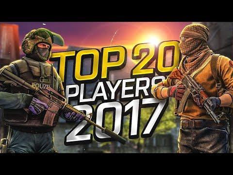 CS:GO - Top 20 Players of 2017 (Fragmovie)