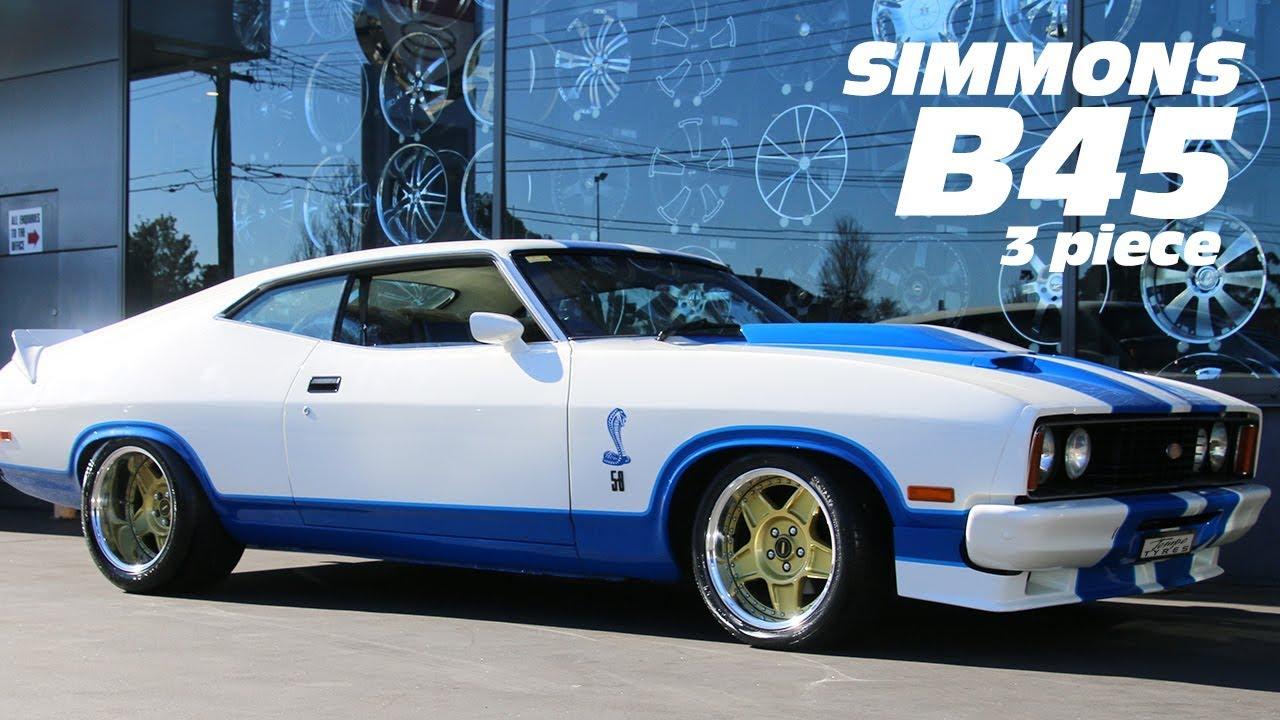 Ford Cobra GT w Simmons B45