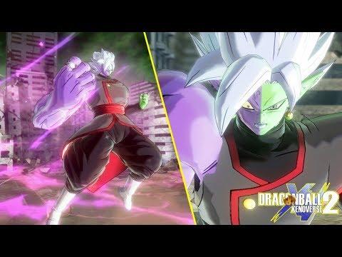 Corrupted Merged Zamasu Full Moveset & Giant Transformation v 2.1   Dragon Ball Xenoverse 2  
