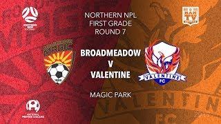 2019 NPL Northern NSW u20s and 1st Grade - Round 7 - Broadmeadow Magic FC v Valentine Phoenix FC