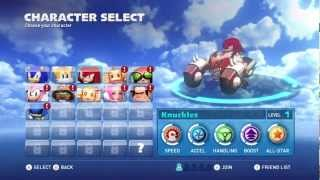 Sonic & All-Stars Racing Transformed (Wii U) (w/ commentary) Part 1 - Dragon Cup [Easy Mode]