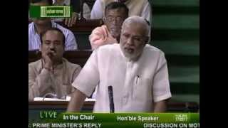 PM Narendra Modi replies to the debate on the Motion of thanks on the President's Address -Part-5
