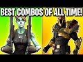 The BEST Skin Combos of ALL TIME! Best Battle Pass Skin Combos (Season 1 to Season 10)