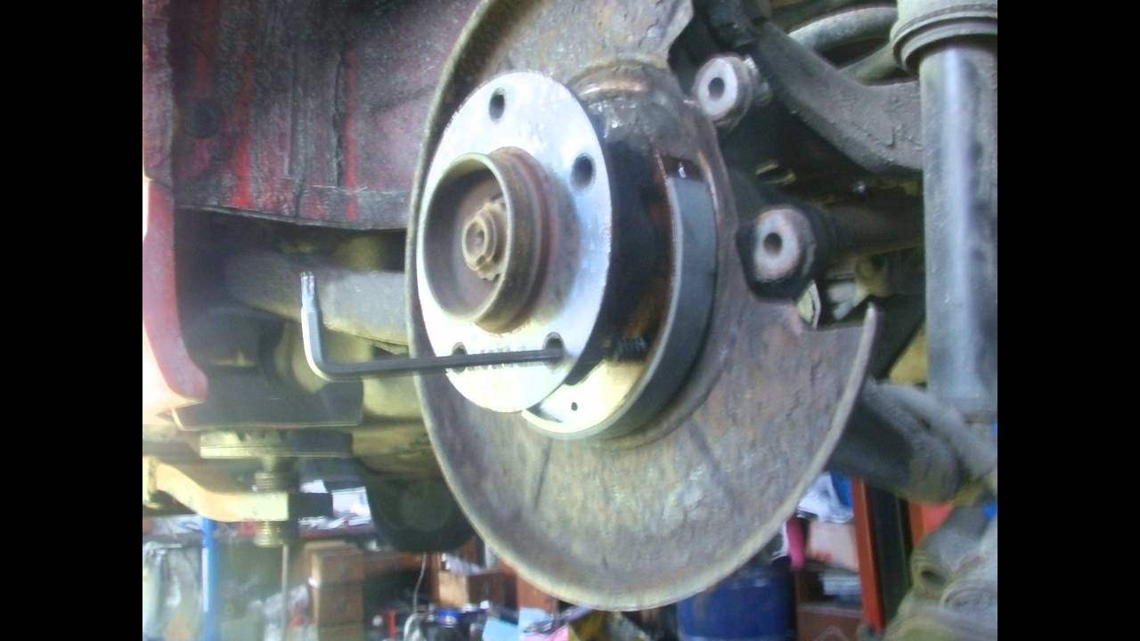 BMW 320I 2016 >> BMW hand brake repair E46 - YouTube