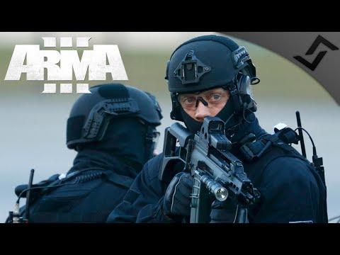 German Black Ops Hostage Rescue - ArmA 3 Zeus Gameplay 1440p60