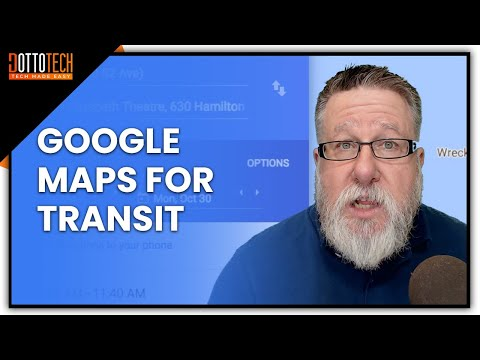 Google Maps For Transit Tutorial
