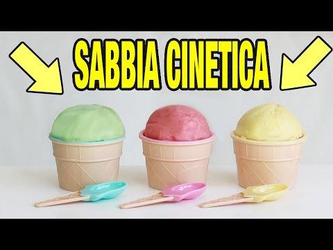 SABBIA CINETICA FATTA IN CASA - ESPERIMENTO EPICO