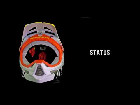 100% Presents - The Status Helmet