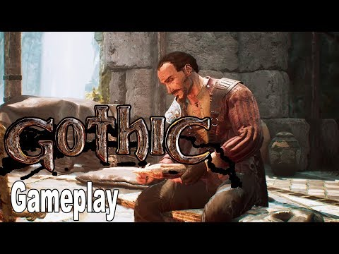 Gothic Remake - Gameplay Demo No Commentary [HD 1080P]