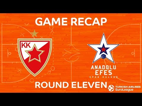 Highlights: Crvena Zvezda mts Belgrade - Anadolu Efes Istanbul