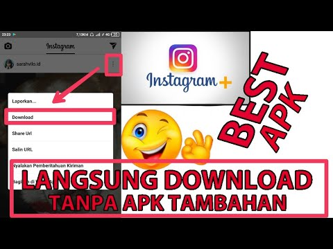 APK Instagram Terbaik ( download photo & video langsung dari APK)
