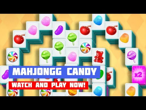 Mahjongg Candy · Game · Gameplay