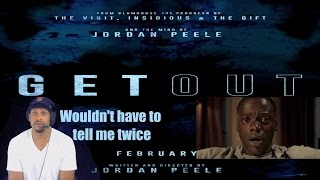 get out trailer reaction trill theater