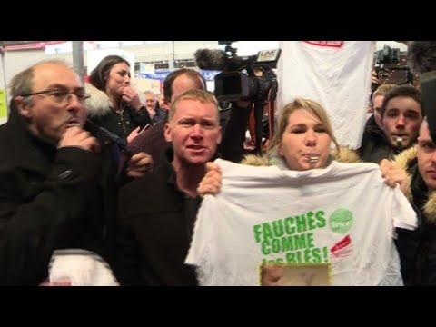 AFP: Macron sifflé au Salon de l'Agriculture