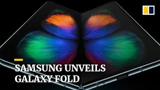 Samsung unveils Galaxy Fold