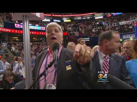 'Never Trump' Movement Causing Stir At RNC, Florida Delegation Not Formally Involved