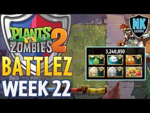 PvZ 2  Battlez  Jade League  Week 22 Battles 610