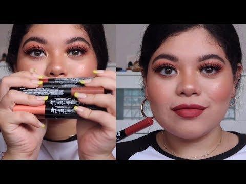 LIP SWATCHES: New NYX Cosmetics Lip Lingerie Push-Up Lipsticks