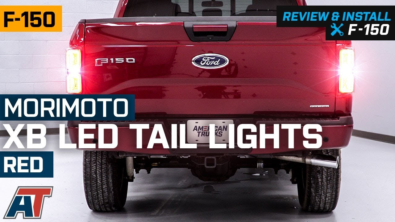 For Ford F150 2015 16 17 Chrome Tail Light Covers Frame PAIR WITH+WITHOUT Sensor