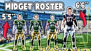 WHAT IF THE ENTIRE GREEN BAY PACKERS ROSTER WAS 5'5