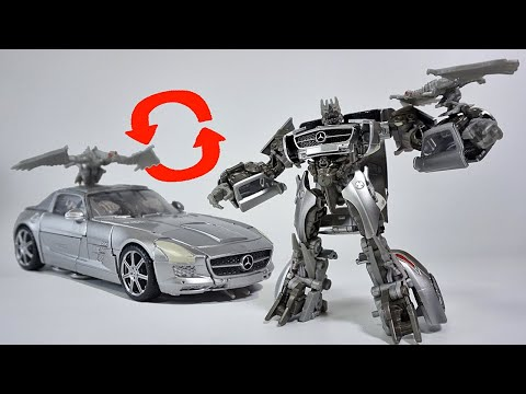 (TRANSFORM) Transformers Studio Series Deluxe Class Dark Of The Moon Movie Soundwave