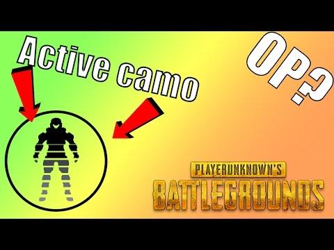 ACTIVE CAMOUFLAGE?!? -PLAYERUNKNOWN'S Battlegrounds