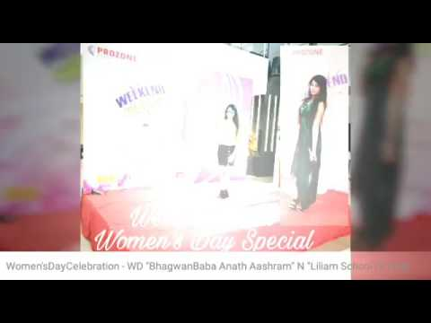 AnchorMadhuriiSaanchii - Hosting Womens Day Special