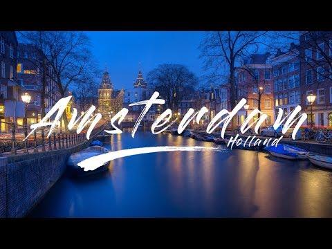 AMSTERDAM CINEMATIC VIDEO | OSMO POCKET TEST 4K