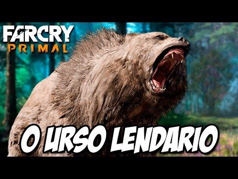 Far Cry Primal - Caçando o Urso LENDÁRIO