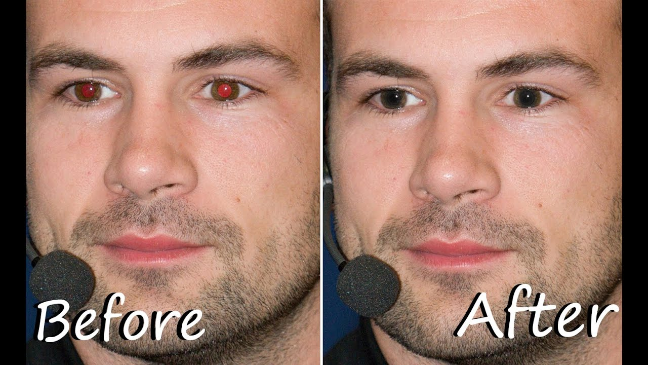 how to remove red eye in photoshop in 34 second youtube