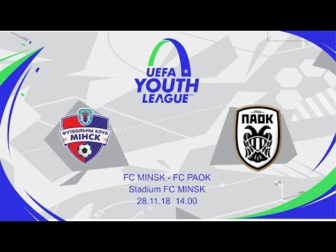 Live broadcast of the match FC Minsk vs PAOK FC