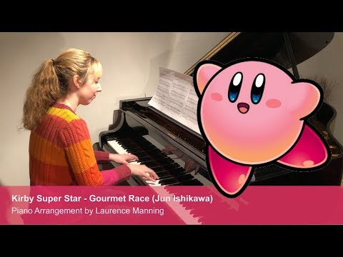 Kirby - Gourmet Race - Piano Cover