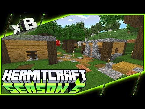 Village Housing! :: HermitCraft Season 5 :: Ep