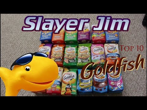 Slayer Jim's Top 10 Goldfish Crackers
